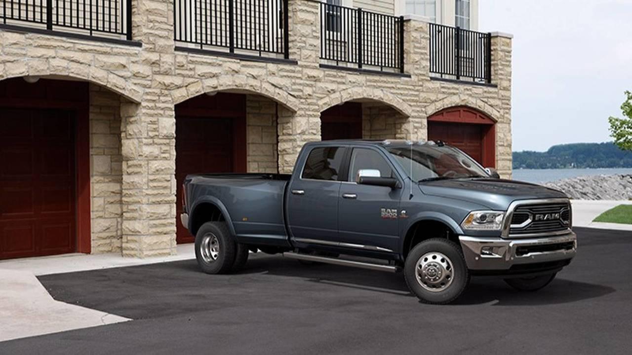 4. Ram 3500 Laramie Longhorn 4WD Mega Cab: $61,990-$70,440