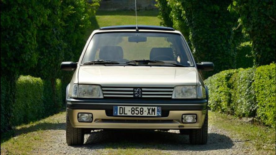 Peugeot 205 Gentry, una piccola lussuosa d'altri tempi