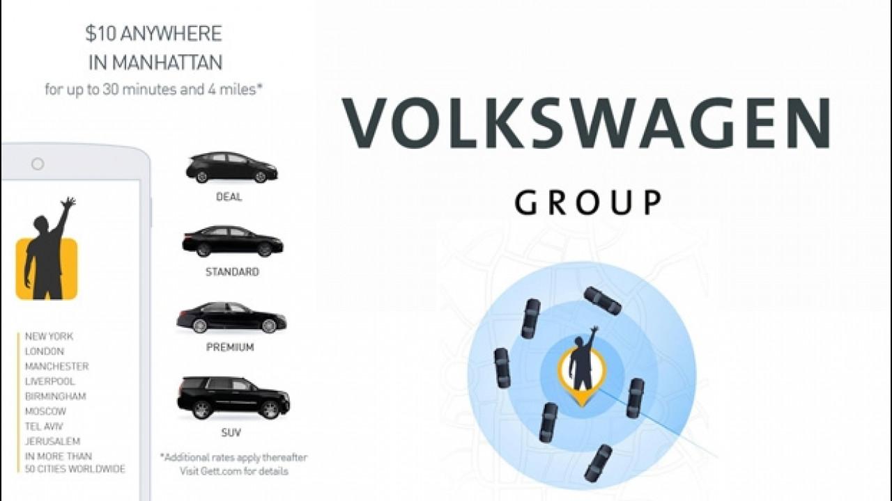 [Copertina] - Il Gruppo Volkswagen investe nella mobilità on-demand
