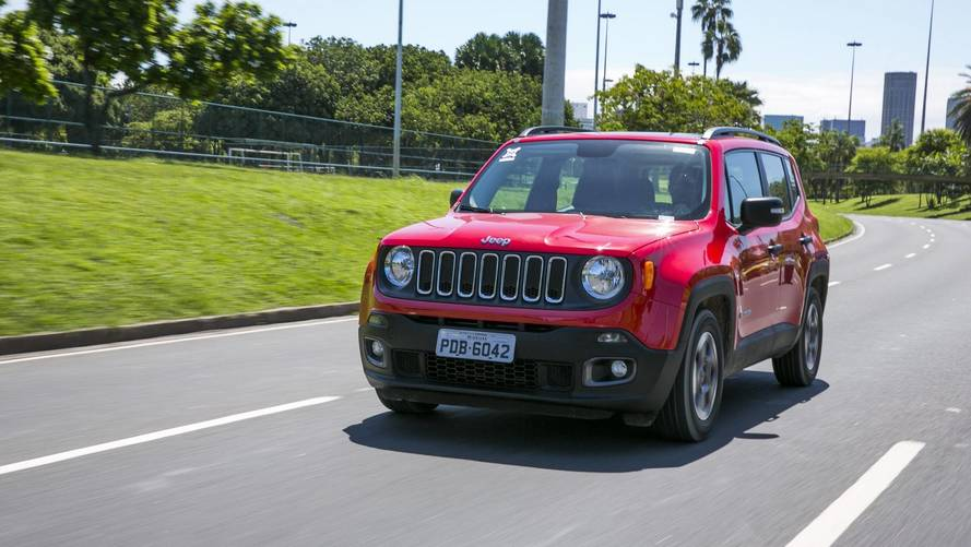 Jeep Renegade 2018 perde motor 2.4 na Argentina
