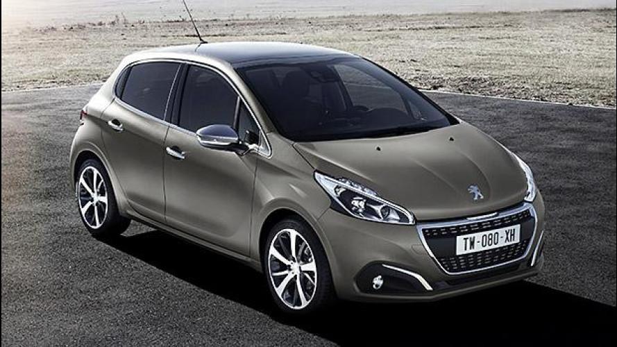 Peugeot 208 restyling, prezzi da 12.300 euro
