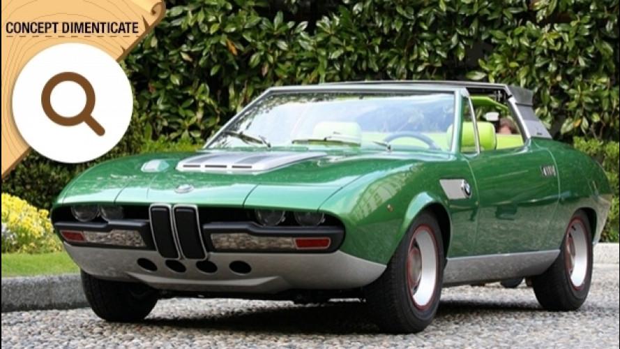 BMW 2800 Spicup, la coupé con il tetto a tendina