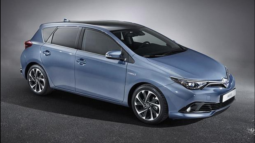 Toyota Auris, col restyling arriva il 1.2T