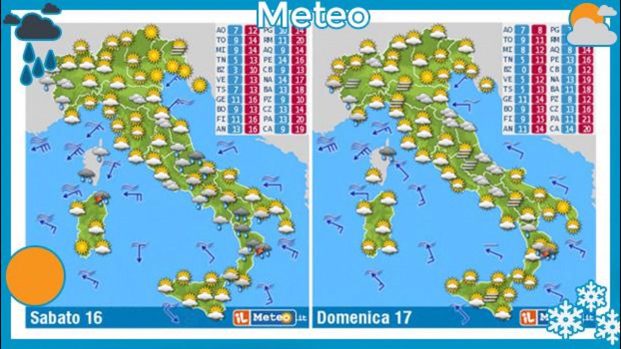 [Copertina] - Meteo del fine settimana 16 e 17 novembre 2013
