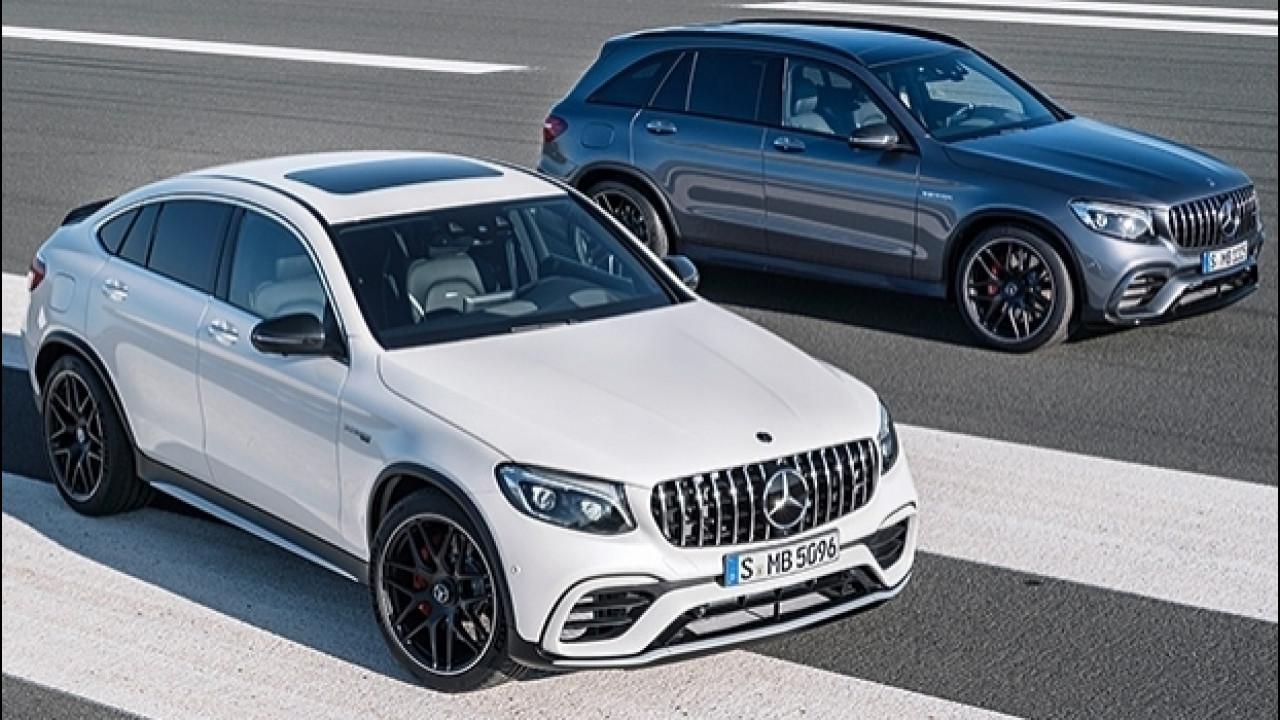 [Copertina] - Mercedes-AMG GLC 63 4MATIC+, il SUV medio dal motore grande