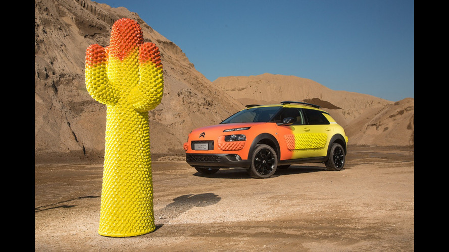 Citroen C4 Cactus Unexpected by Gufram alla Milano Design Week