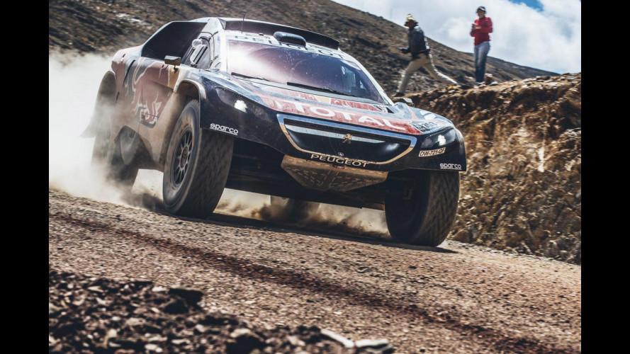Peugeot, terza tripletta alla Dakar 2016