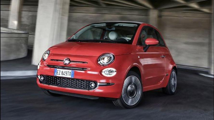 FCA, con 500 batte VW e GM sulla qualità negli USA
