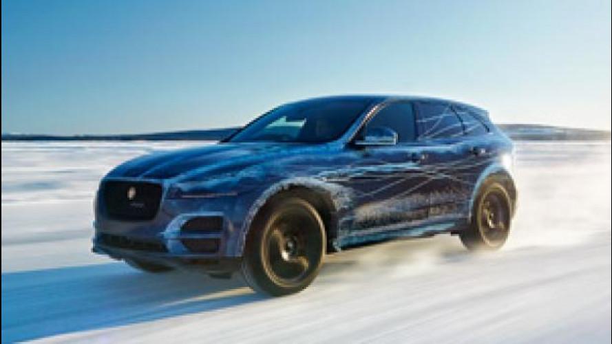 Jaguar F-Pace, dal deserto al Polo Nord per i test climatici