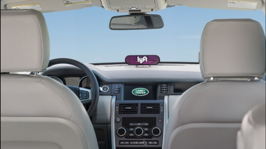 Jaguar Land Rover e InMotion, investimento in Lyft