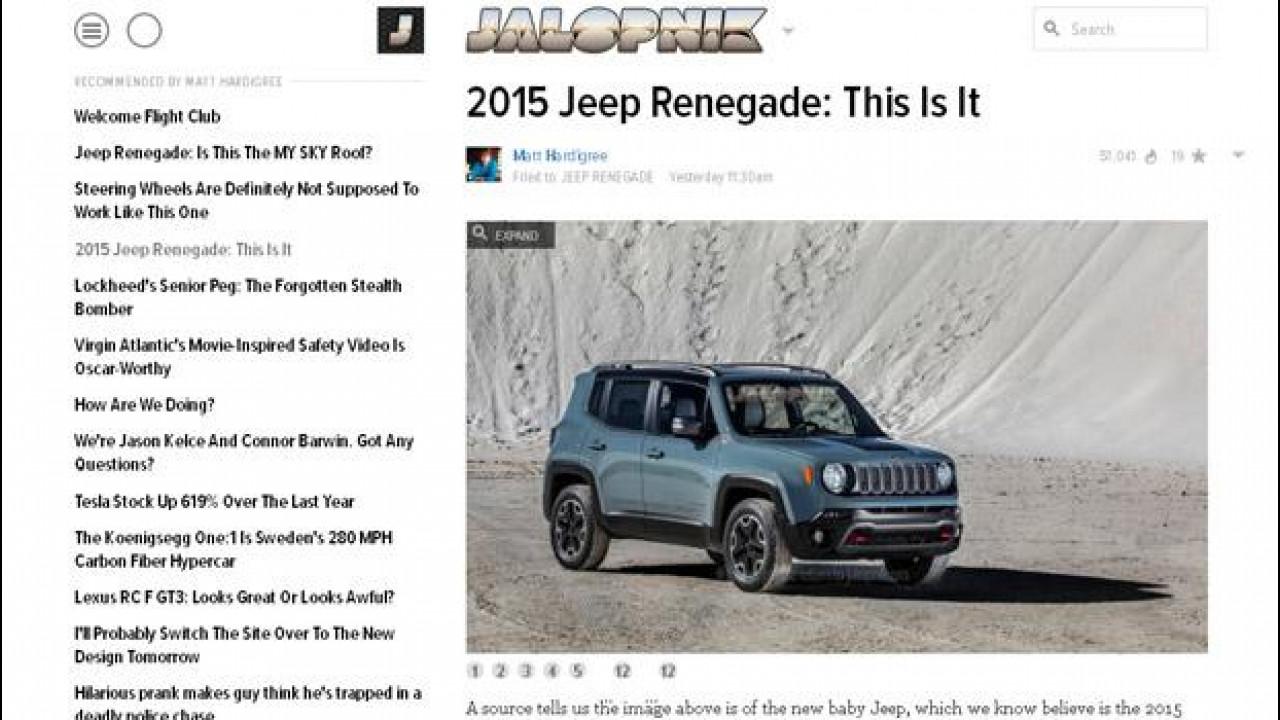 [Copertina] - Jeep Renegade, ecco le prime immagini