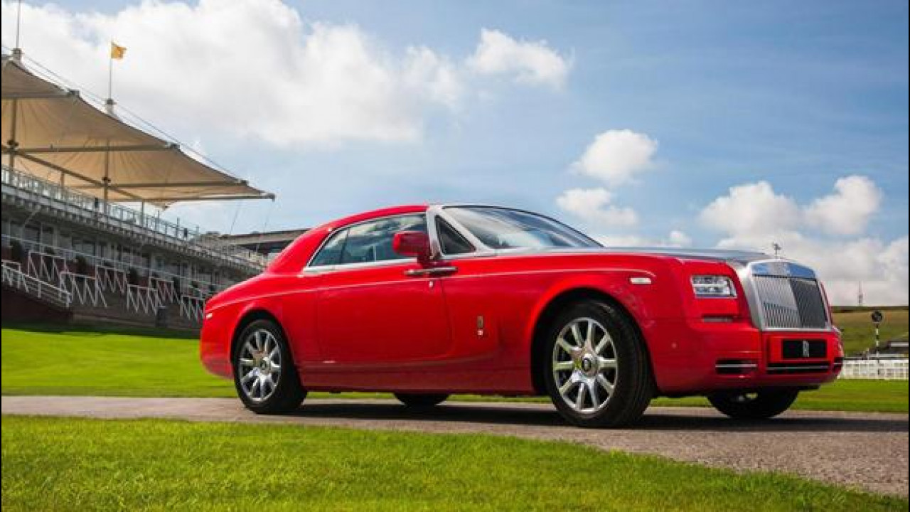 [Copertina] - Rolls-Royce Phantom, Coupé al galoppo