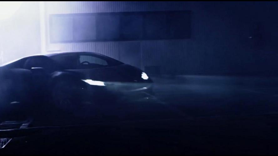 Lamborghini LP 610-4 Huracán, drifting by night [VIDEO]