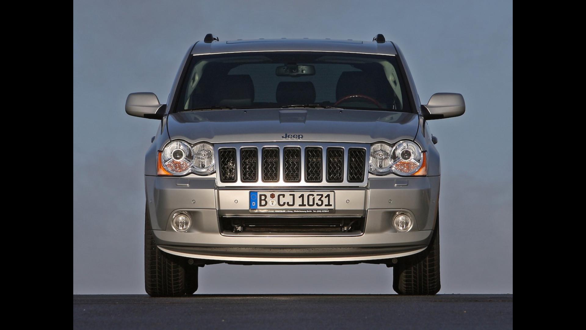 Schemi Elettrici Jeep Cherokee : Jeep grand cherokee trackhawk con cv è il suv più potente del