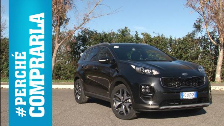 Kia Sportage, perché comprarla... e perché no [VIDEO]