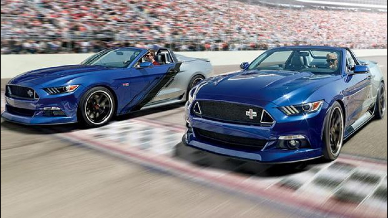 [Copertina] - Ford Mustang Convertible Neiman Marcus Limited-Edition, Natale coi fiocchi [VIDEO]