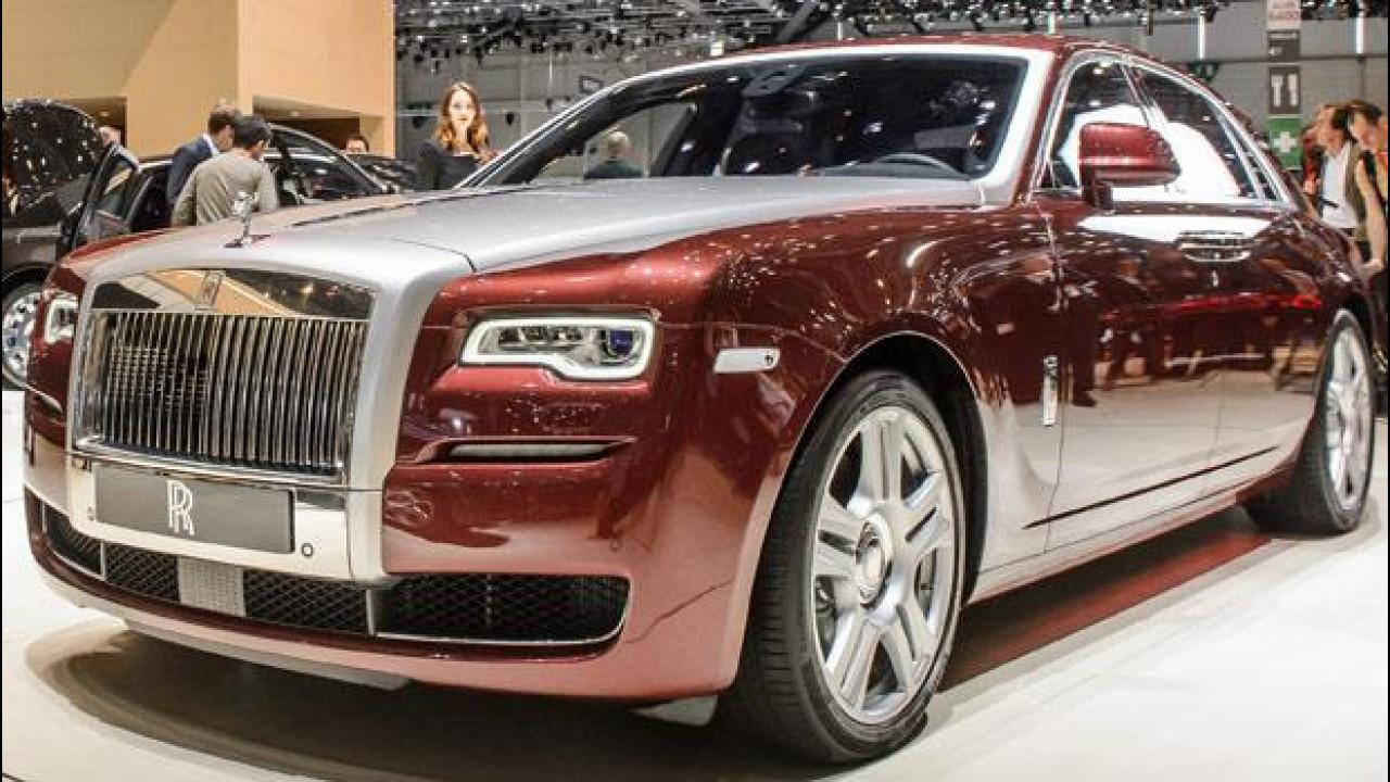 [Copertina] - Rolls-Royce Ghost Series II
