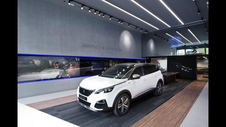 Peugeot, a Parigi il primo dei nuovi concessionari