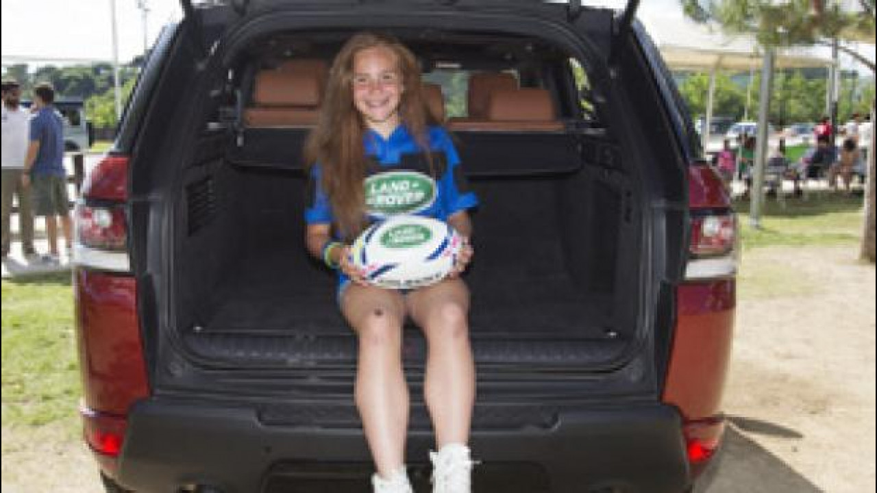 [Copertina] - Land Rover, la Coppa del Mondo di Rugby ha le sue mascotte