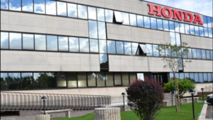 [Copertina] - E' nata oggi la Honda Motor Europe Ltd. Italia