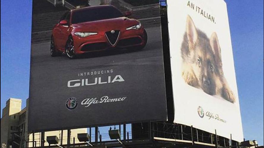 """Alfa Romeo, pubblicità """"enigmatica"""" a New York"""