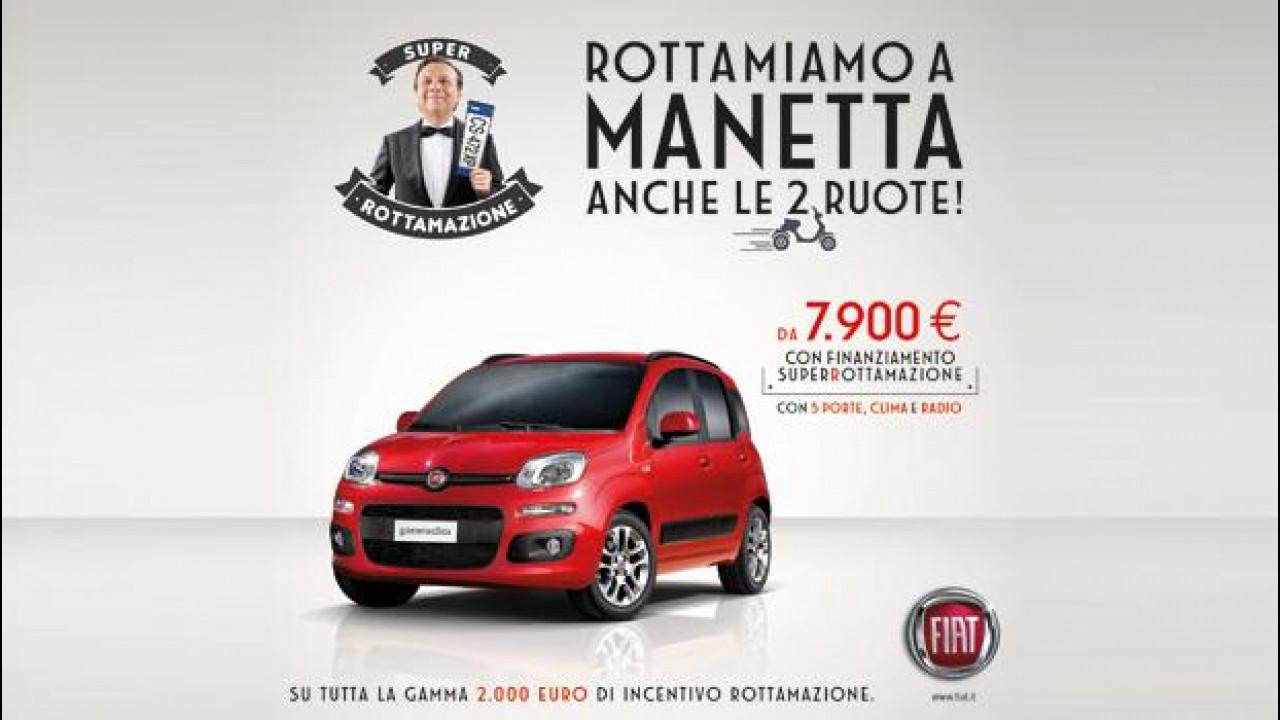 [Copertina] - SuperRottamazione, Fiat allarga la promozione a qualsiasi veicolo