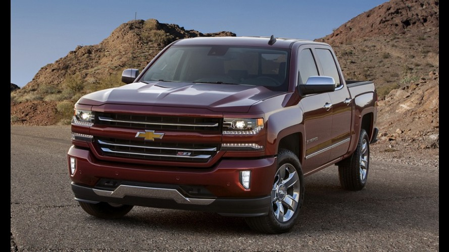Silverado 2016 estreia novo visual e MyLink com Apple CarPlay