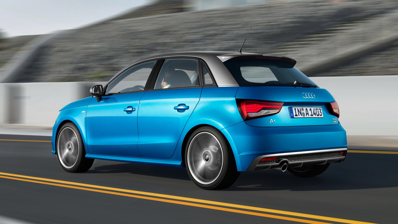 Makyajlı Audi A1 Sportback