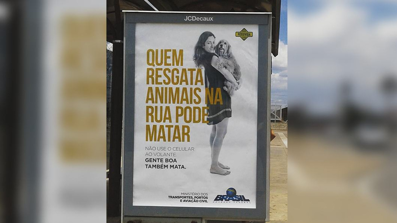 Campanha de trânsito polêmica do Ministério dos Transportes