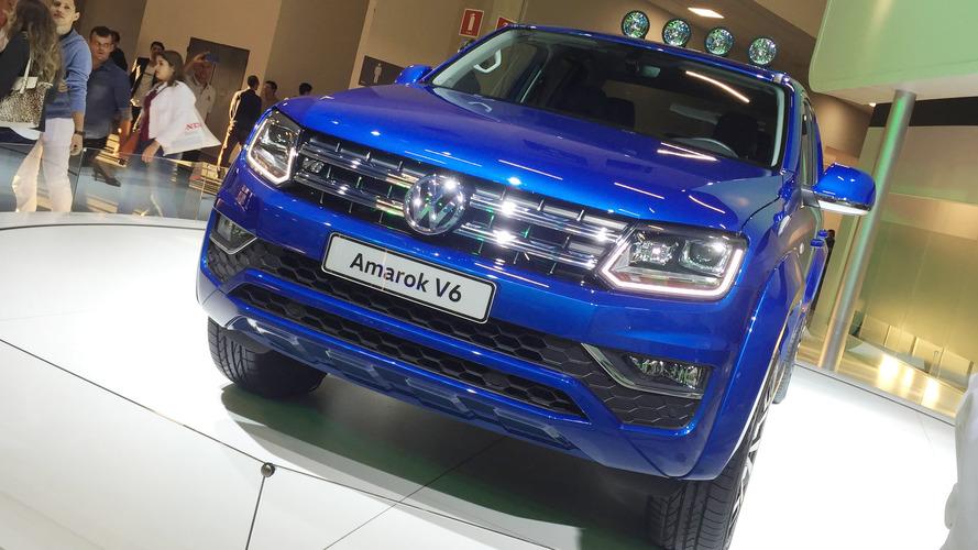 Volkswagen Amarok V6 de 224 cv esgota em pré-venda na Argentina