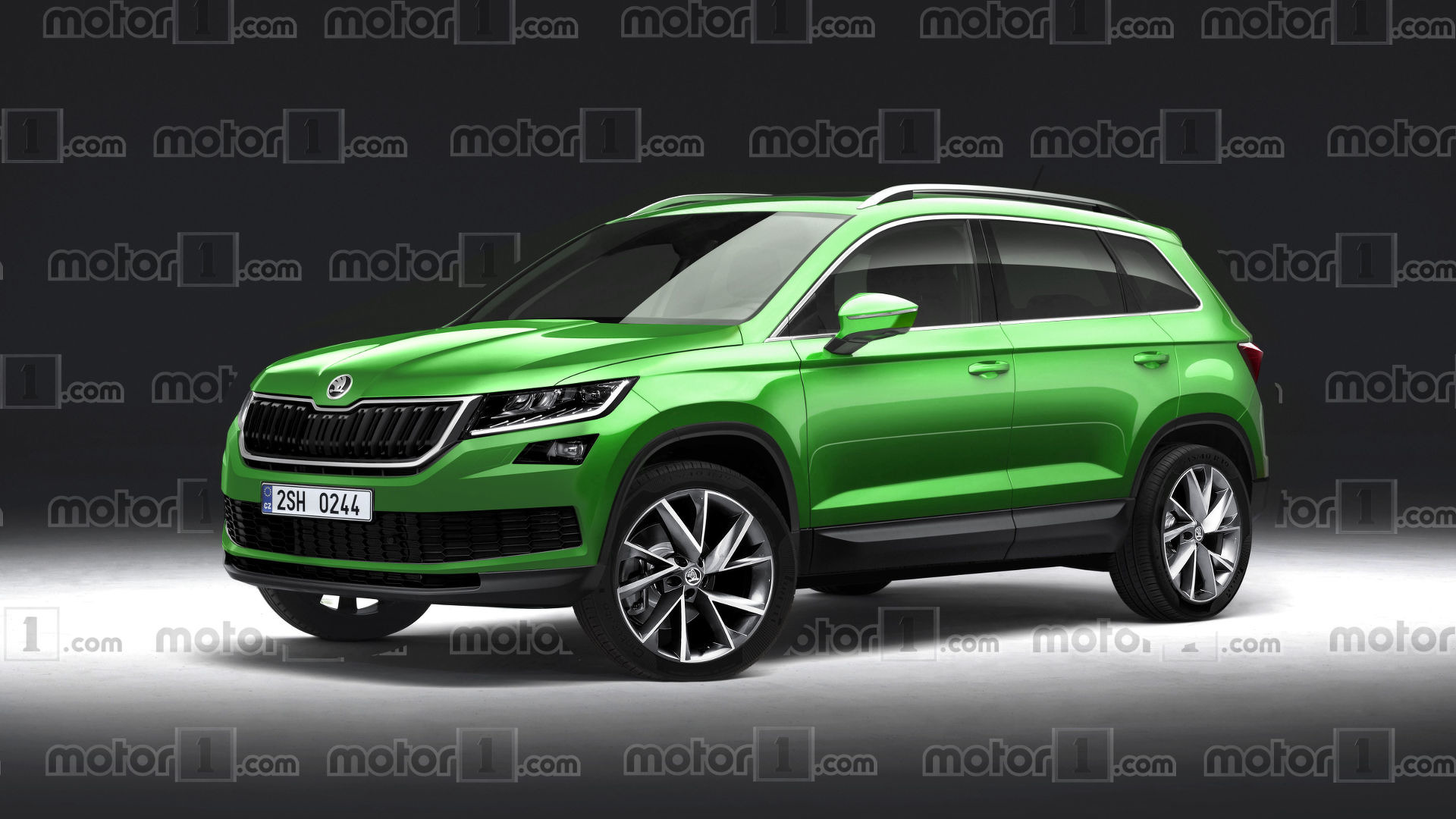 Will The 2018 Skoda Yeti Look Like A Mini Kodiaq