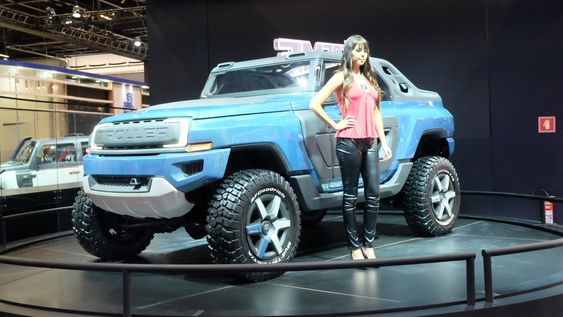 2020 Ford Troller T4 Model
