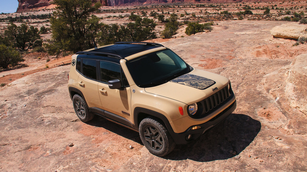 Jeep Renegade Deserthawk special edition