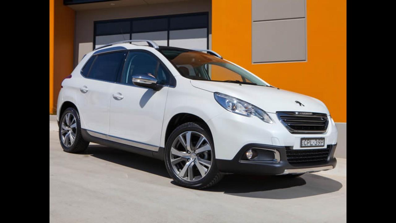 Recém-lançado no Brasil, Peugeot 2008 vende mais de 6 mil na França em março