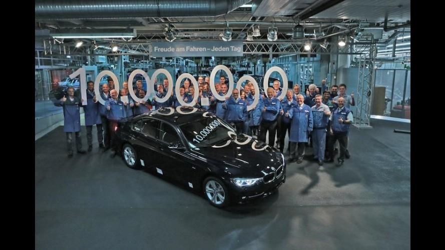 BMW Série 3 alcança marca de 10 milhões de unidades vendidas