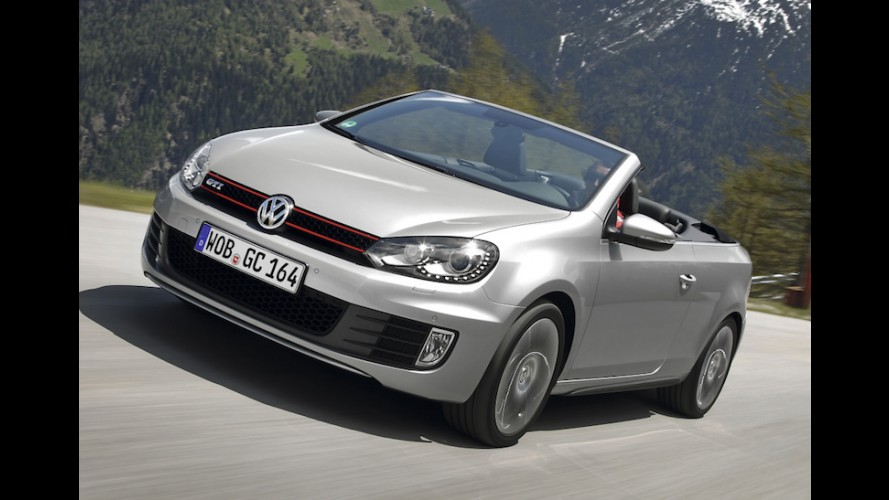 VW Golf voltará a ter versão Cabriolet na próxima geração