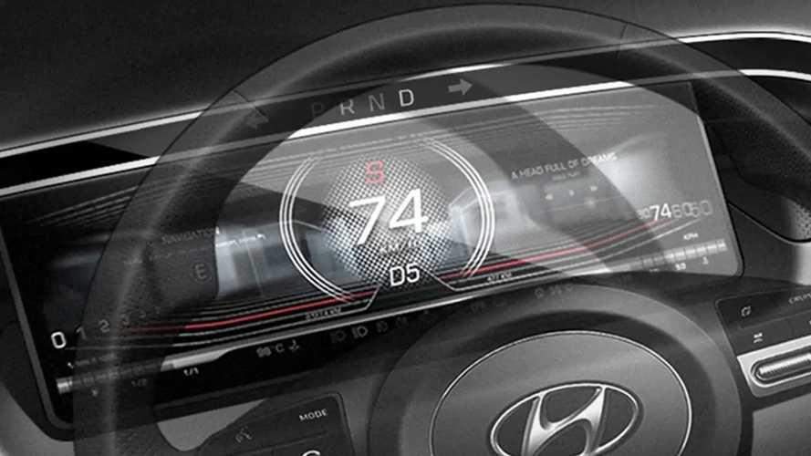 Hyundai Tucson (2021): Teaser-Bilder