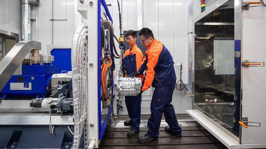 Volvo, yeni elektrik motoru laboratuvarını açtı