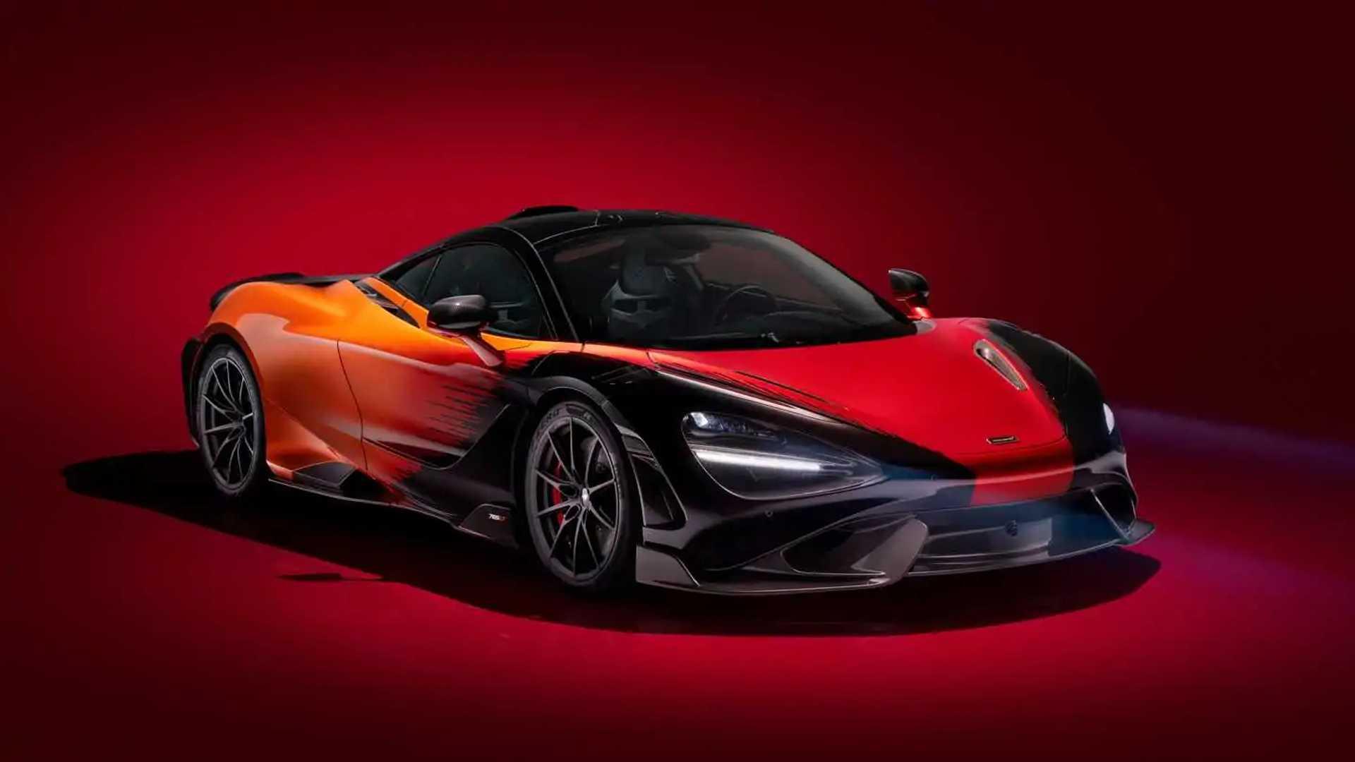 2020 McLaren 765LT Front