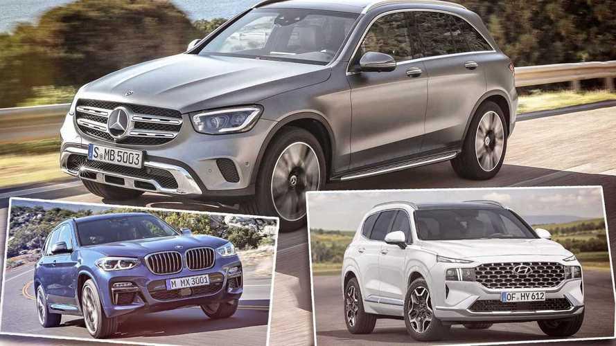Mittelklasse-SUVs (2020/2021): Alle Modelle in der Marktübersicht