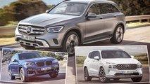 Mittelklasse-SUVs (2020/2021): 10 Modelle der beliebtesten Marken