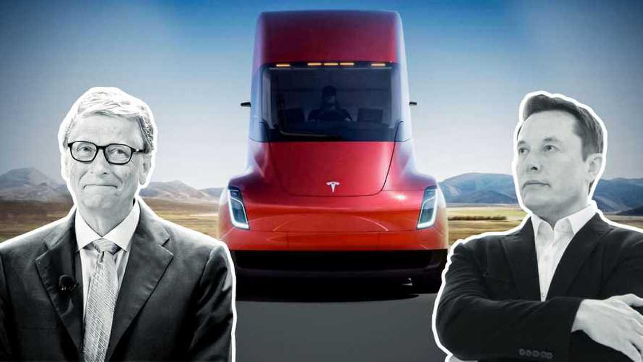 Camion elettrici: è scontro tra Bill Gates ed Elon Musk