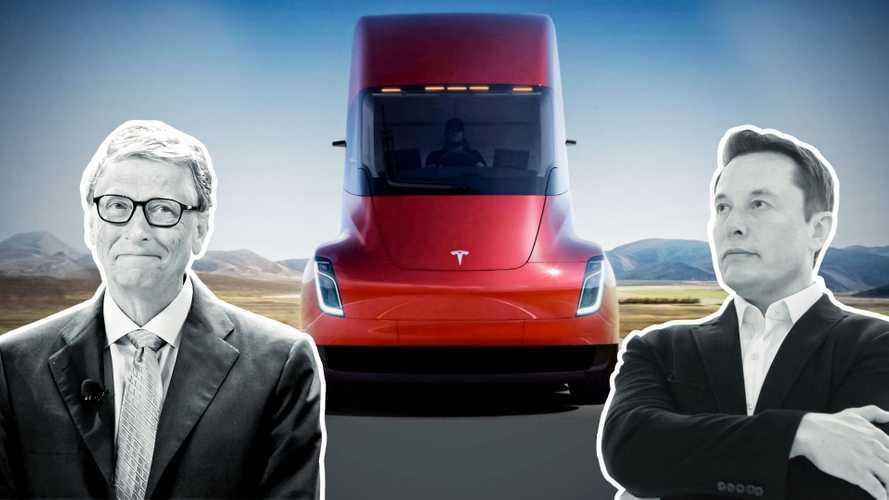 Lo scontro tra Bill Gates ed Elon Musk sui camion elettrici