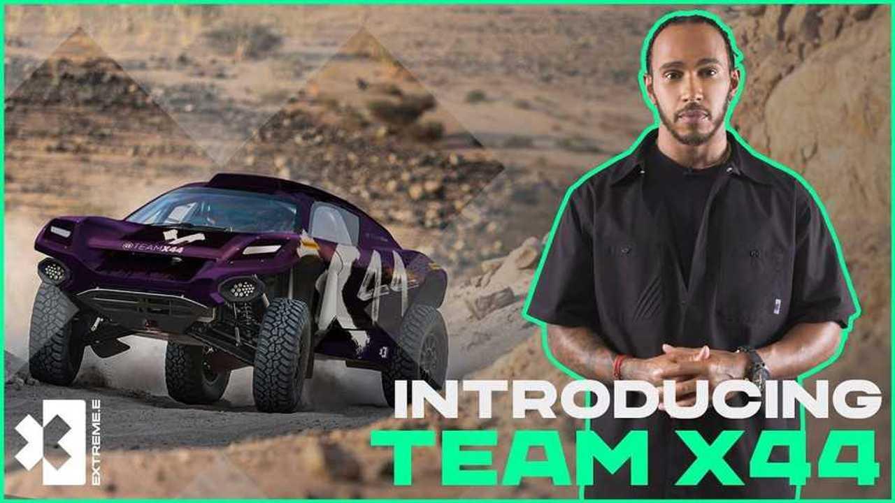 X44 - Lewis Hamilton Extreme E Team