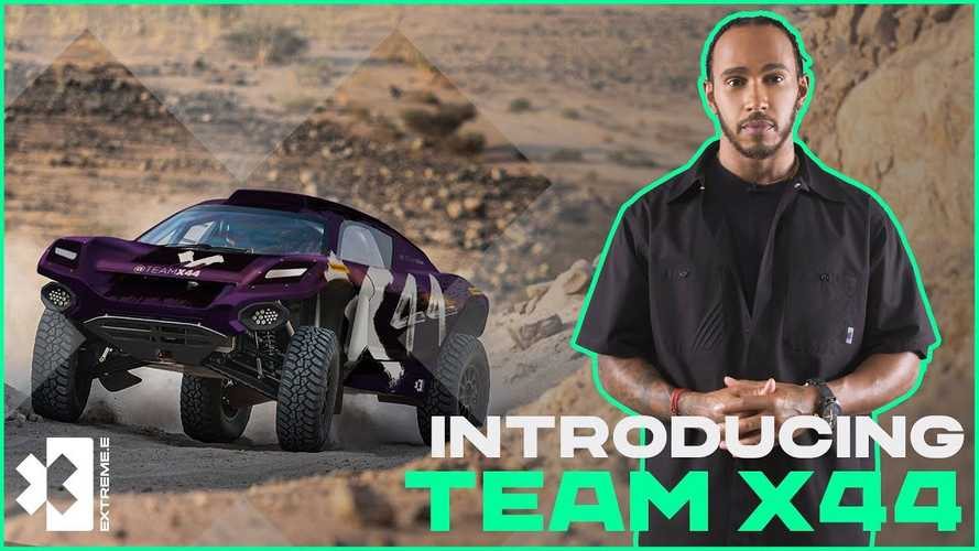 F1 Champ Lewis Hamilton Creates Team For Electric Extreme E Racing Series