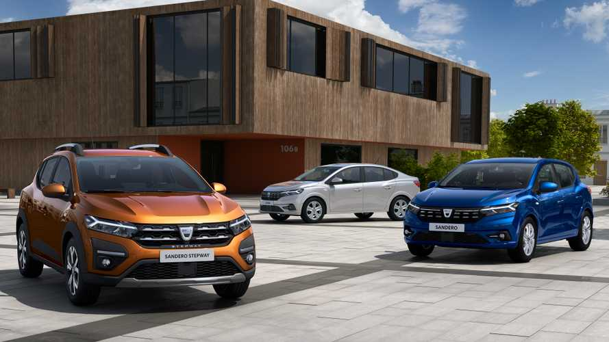 2021 Dacia Sandero and Logan first official images show modern design