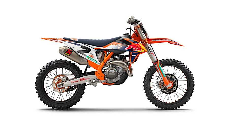 KTM Launches Shiny New 2021 450 SX-F Factory Edition