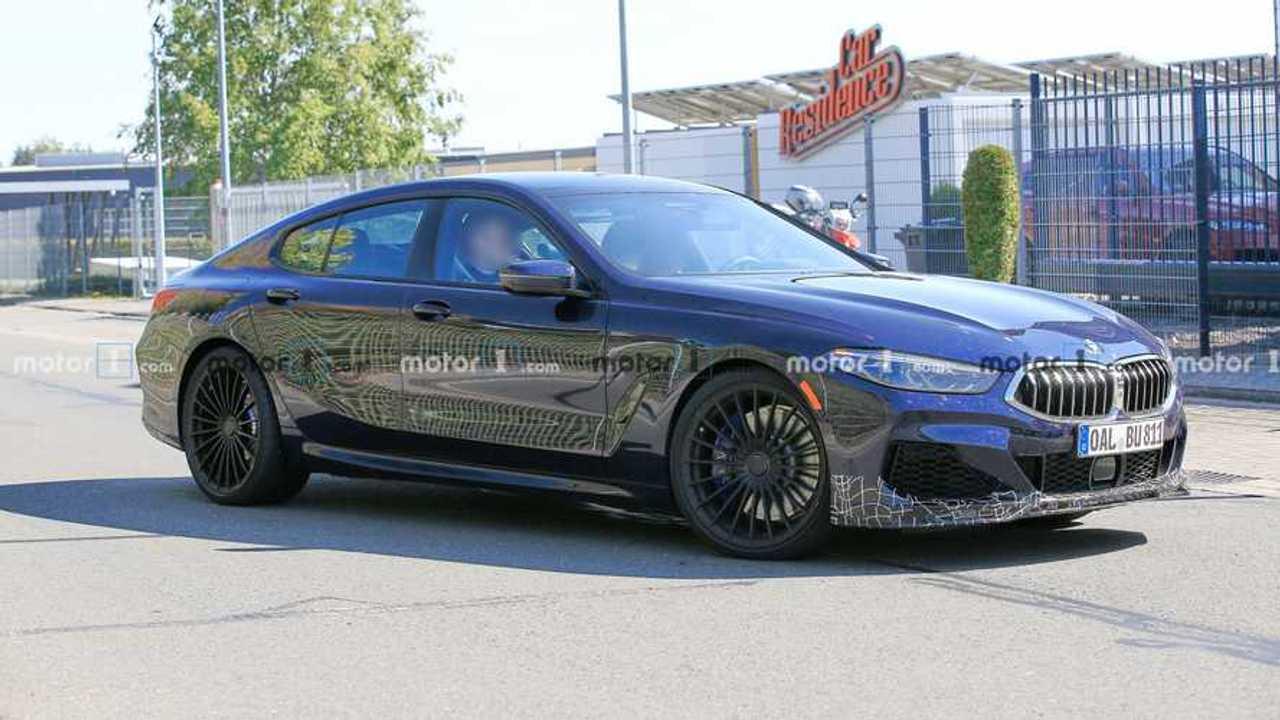 BMW Alpina B8 Gran Coupe Spy Photo Front