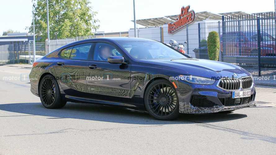 Alpina B8 Gran Coupe Debuting March 24 As Four-Door BMW M8 Alternative