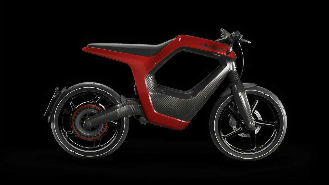 Novus Electric Bike Red